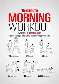 Morning Workout Routine Men