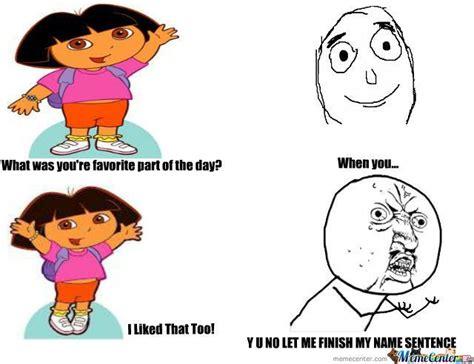 Dora Memes - hilarious dora memes dora the explorer funny memes y u