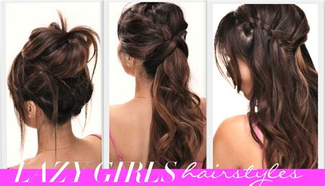 ★4 Easy Lazy Girls Back-to-school Hairstyles