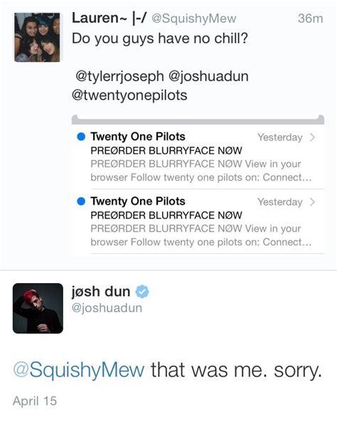 twitter top tweets tj jd pumpkin twenty  pilots tyler