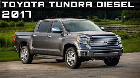 toyota tundra diesel review rendered price specs