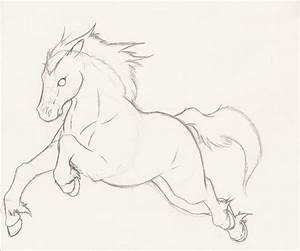 Horse sketch by Super-Sonic-101 on DeviantArt