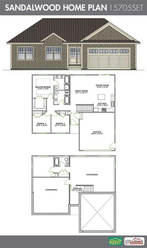 sandalwood  bedroom  bath home plan features open concept livingkitchendining room