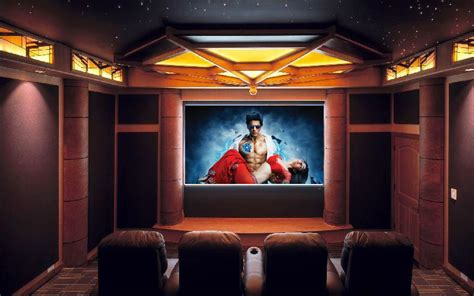 Inspirational ideas for home theatre rooms - Kerala home