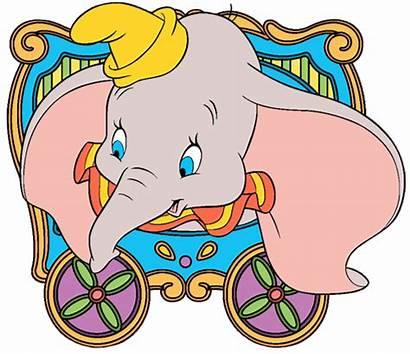 Dumbo Circus Clip Clipart Elephant Ears Disney