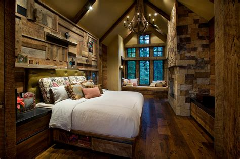 mountain cabin rustic bedroom phoenix  imi