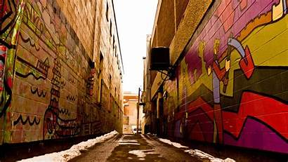 Graffiti Wall Alley Wallpapers Backgrounds 1080 Walls