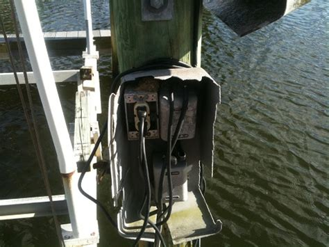 Boat Lift Electrocution by Boat Dock Electrical Wiring Power And Lighting