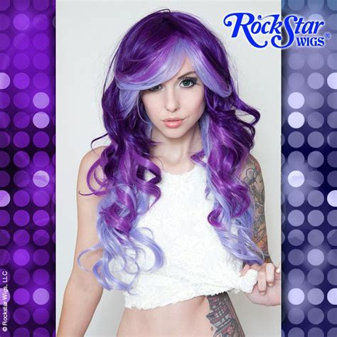 Rockstar Wigs Triflect Collection Purple Possession