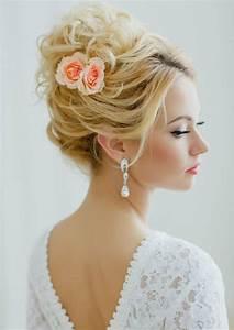 Coiffure Femme Pour Mariage : coiffure mariage femme id es en photos pour vous inspirer ~ Dode.kayakingforconservation.com Idées de Décoration