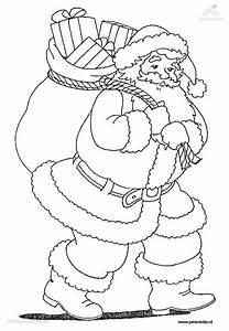 Weihnachten >> Weihnachtsmann Malvorlage Pictures