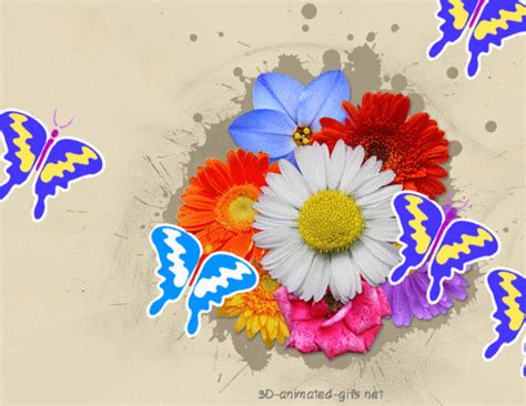 Flower Animated Gif Wallpaper - graphics animation september 2012