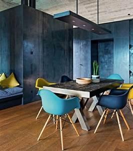 Stühle Im Eames Stil : skandinavisches esszimmer design idee putzwand home sweet home pinterest esszimmer st hle ~ Indierocktalk.com Haus und Dekorationen
