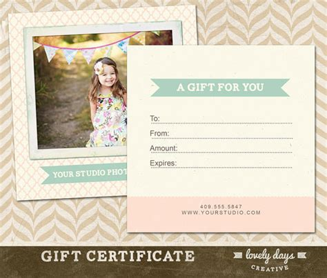 free printable photography gift certificate template photography gift certificate templates 17 free word