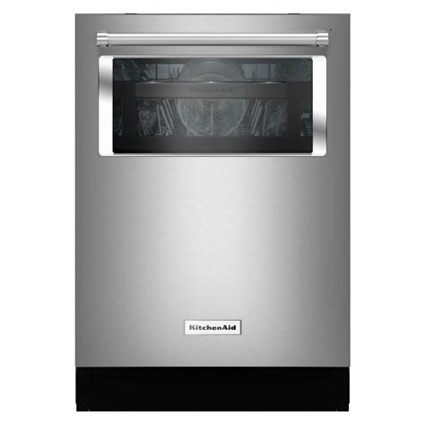 KitchenAid Top Control Dishwasher with Window in Stainless