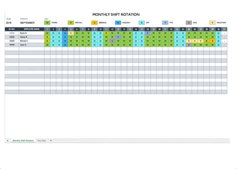 On Call Rotation Calendar Template by 10 On Call Schedule Templates Free Word Pdf Excel Formats