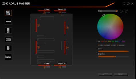 Illuminazione Rgb Aorus Rgb Fusion 2 0 Nuova App Per Controllare Tutto Con
