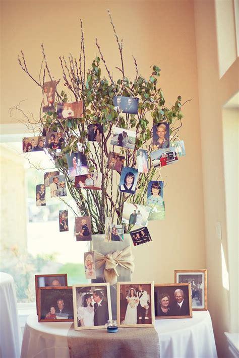 wedding tree decorations 26 creative diy photo display wedding decor ideas tulle