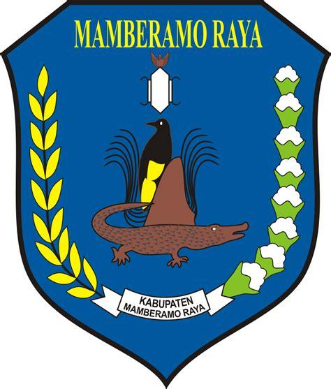 logo kabupaten mamberamo raya logo lambang indonesia