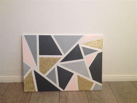 ideas  gold canvas  pinterest diy canvas