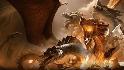 Tiamat Dragons Dungeons Rise Neverwinter Dragon Waterdeep