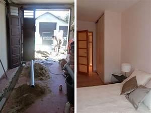 Aménagement D Un Garage En Studio : une chambre tout quip e en lieu et place d 39 un garage ~ Premium-room.com Idées de Décoration