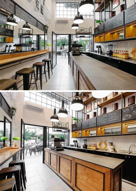 Café design facade design store design coffee shop interior design coffee shop design. modern-coffee-shop-design-wood-black-120617-103-06   CONTEMPORIST