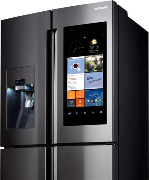 door refrigerator sale samsung 39 s smart fridge with its embedded smartphone