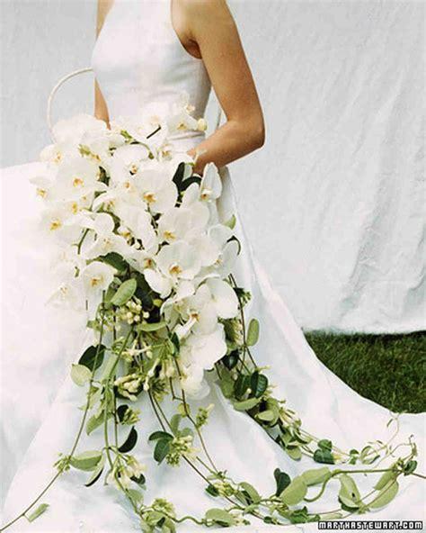 Orchid Bouquets Martha Stewart Weddings