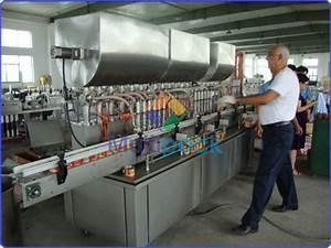Machine À Café À Piston : piston filler for viscous liquid paste jam sauce multipack ~ Melissatoandfro.com Idées de Décoration