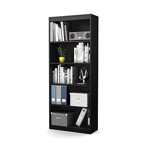 south shore axess collection 5 shelf bookcase south shore axess collection 5 shelf bookcase black