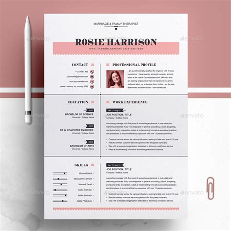 Photoshop Resume Template Free by 60 Premium Free Psd Cv Resume Templates Cover Letters