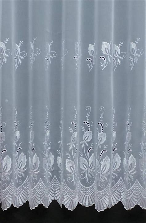 white voile curtain made to measure voiles any size