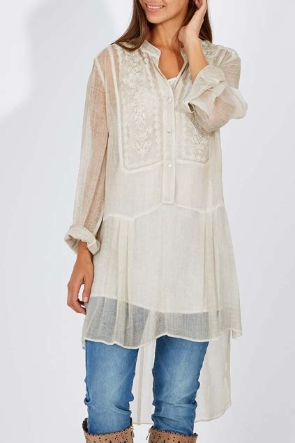 Hammock And Vine Clothing by Hammock Vine Dresses Overdyed Tunic Womens Blouses