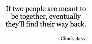 If Two People Are Meant To Be Together Quotes. QuotesGram