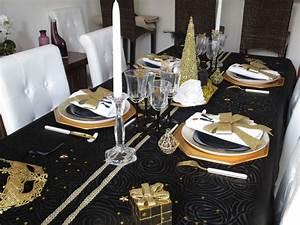 Decoration Noir Et Or