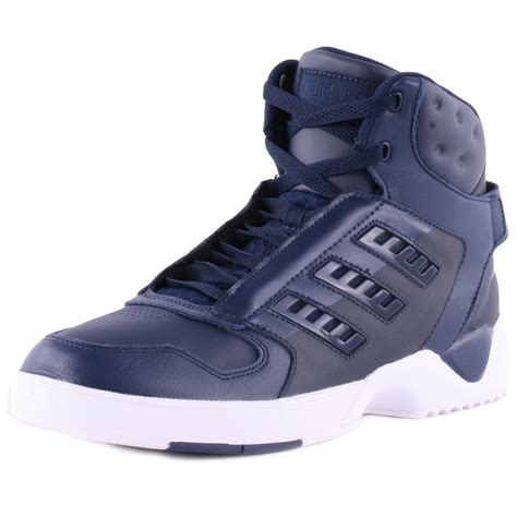 adidas torsion artillery  mens trainers  navy white