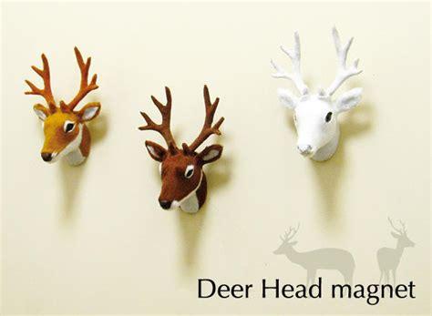 鹿頭裝飾才氣派 現在不用這麼殘忍 鹿頭磁鐵 可愛指數破表 大人物 64196