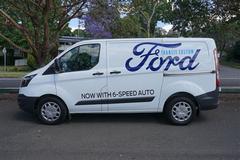 Ford Transit Review by 2017 Ford Transit Custom Review Ute And Guide