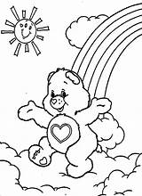 Coloring Pages Care Bear Bears Printable sketch template