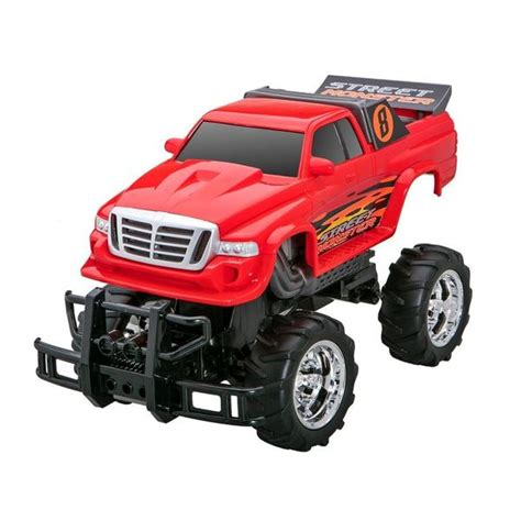 remote control monster trucks videos radioshack remote control 1 12 scale street monster truck
