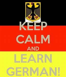 KEEP CALM AND LEARN GERMAN! Poster | Maria | Keep Calm-o-Matic