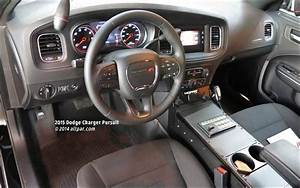 Police Charger Interior