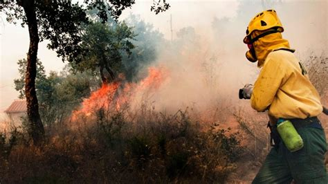 Wildfires Break Out In Spain And Portugal; Over 1,350