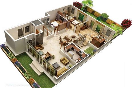 awesome villa floor plan  images house design home