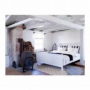 Cadre De Lit 160x200 : hemnes cadre de lit teint blanc pinterest lit ~ Nature-et-papiers.com Idées de Décoration