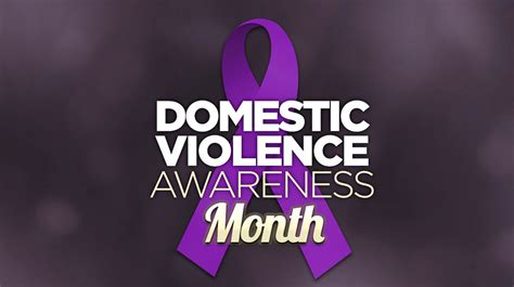 Domestic Violence Awareness Month Fish Of Gold