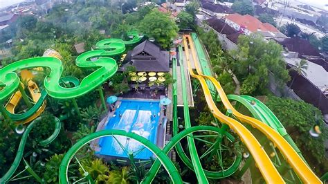 Waterbom Bali 2 Best Waterpark In The World Youtube