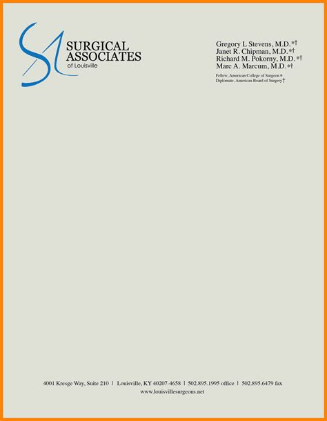 business letterhead format business mentor