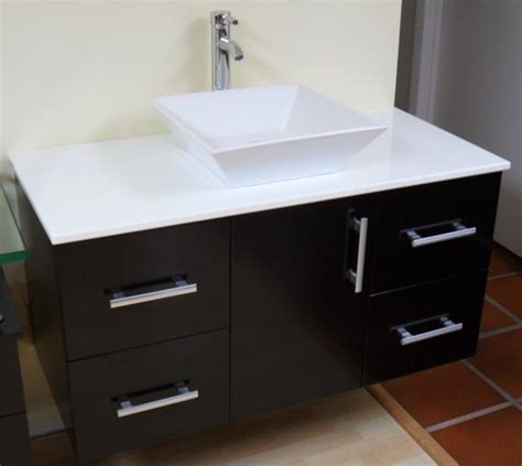 Houzz Bathroom Vanities Modern by Modern Contemporary Bathroom Vanity Wall Mount Espresso